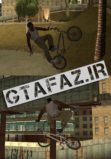 دانلود مود کلو ترفند های bmx برای (GTA 5 (San Andreas